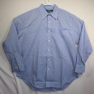 Lauren Ralph Lauren Men's Long Sleeve Shirt Sz 17